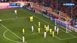 APOEL Vs Real Madrid 0-3 highlights of Champions league 2012 nock-out stage 8 on 27/03/2012 - YouTube