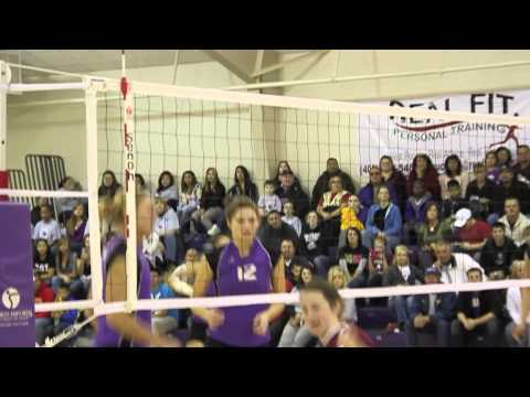 2010 Bellevue University Volleyball Highlights