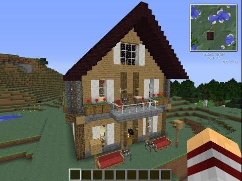 Minecraft как построить красивый дом с