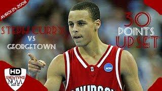 Video Stephen Curry Davidosn Full Highlights Vs Georgetown 2008.24.03 - 30 Pts 5 Asts, UPSET Georgetown! MP3, 3GP, MP4, WEBM, AVI, FLV Juni 2019