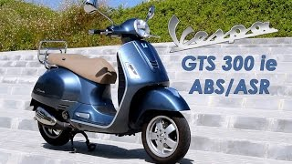 4. Vespa GTS 300 ie ABS/ASR: Prueba a fondo [FullHD]