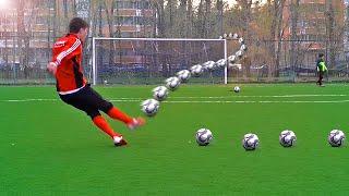 Video Crazy Free Kick Tutorial - How To Shoot A Knuckleball MP3, 3GP, MP4, WEBM, AVI, FLV September 2017