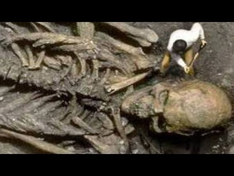 SCIENTISTS DISCOVER GIANT SKELETON - real or fake?