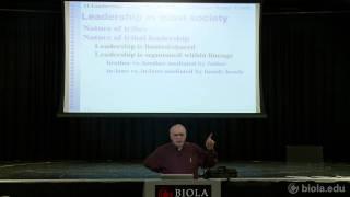 [ANTH 200] Leadership in Societies: Tribal Communities - Doug Hayward