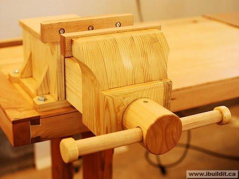 Изготовление тисков из дерева