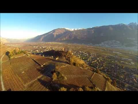 Saillon Drone Video