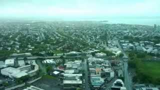 360° Auckland SkyTower view (30x time-lapse taken in Orbit restaurant)