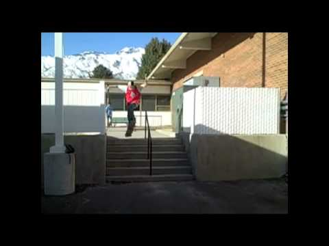 Utah Skateboarding Street and Skatepark Spike Moreno (old footage)