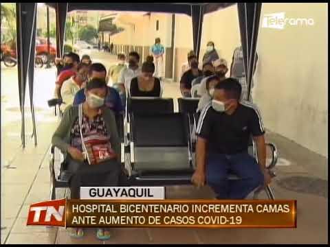 Hospital Bicentenario incrementa camas ante aumento de casos covid-19