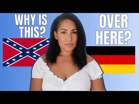 Why the Confederate Flag Should not be in Germany