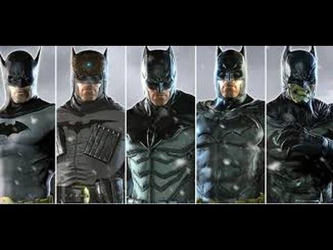Batman Arkham Origins - All Costumes