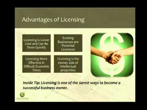 Benefits of Licensing