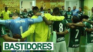 Tudo que rolou no vestiário até a entrada do Alviverde Imponente em campo! ------------------------ Assine o Premiere e assista a todos os jogos do Palmeiras...