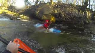 Cumbria United Kingdom  city pictures gallery : Kayaking River Kent, Cumbria, UK in Liquid Logic Flying Squirrel