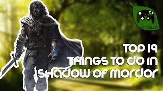 Nonton 19 Fun Things To Do In Middle Earth  Shadow Of Mordor Film Subtitle Indonesia Streaming Movie Download
