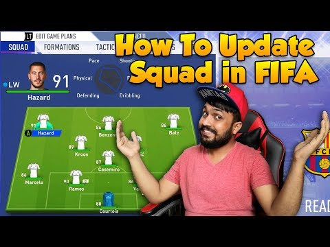 How To Update Squad In FIFA 2014 - 2019 (Cracked Version) | Step By Step Guide | Modding Way