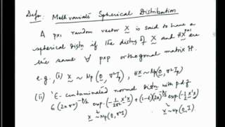 Mod-01 Lec-22 Multiple Correlation Coefficient