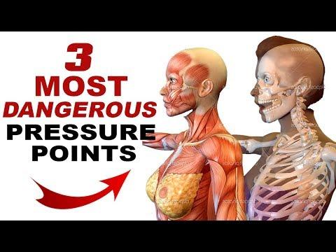 3 MOST DANGEROUS Pressure Points for Self Defense