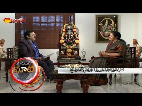 Sakshi Special Interview with BJP Leader Daggubati Purandeswari - Watch Exclusive