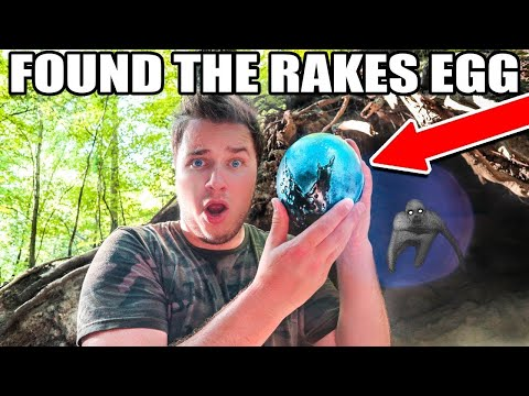 THE RAKES EGG FOUND EXPLORING AN ABANDONED CAVE!
