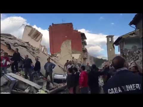 Число жертв землетрусу в Італії досягло 247 осіб (відео)