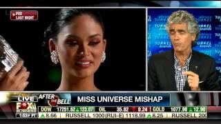 Bruce Turkel on Fox Business News: Miss Universe Mishap