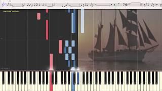 Есть только миг - Зацепин Александр (Ноты и Видеоурок для фортепиано) (piano cover)