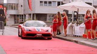 Ferrari Treffen Aarberg 2016