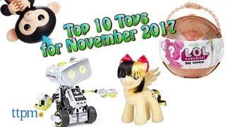 Top 10 Toys in November 2017