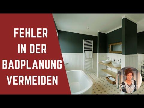 Richtige Badplanung im New England Stil - Amerikanisches Holzhaus, Landhaus, Schwedenhaus