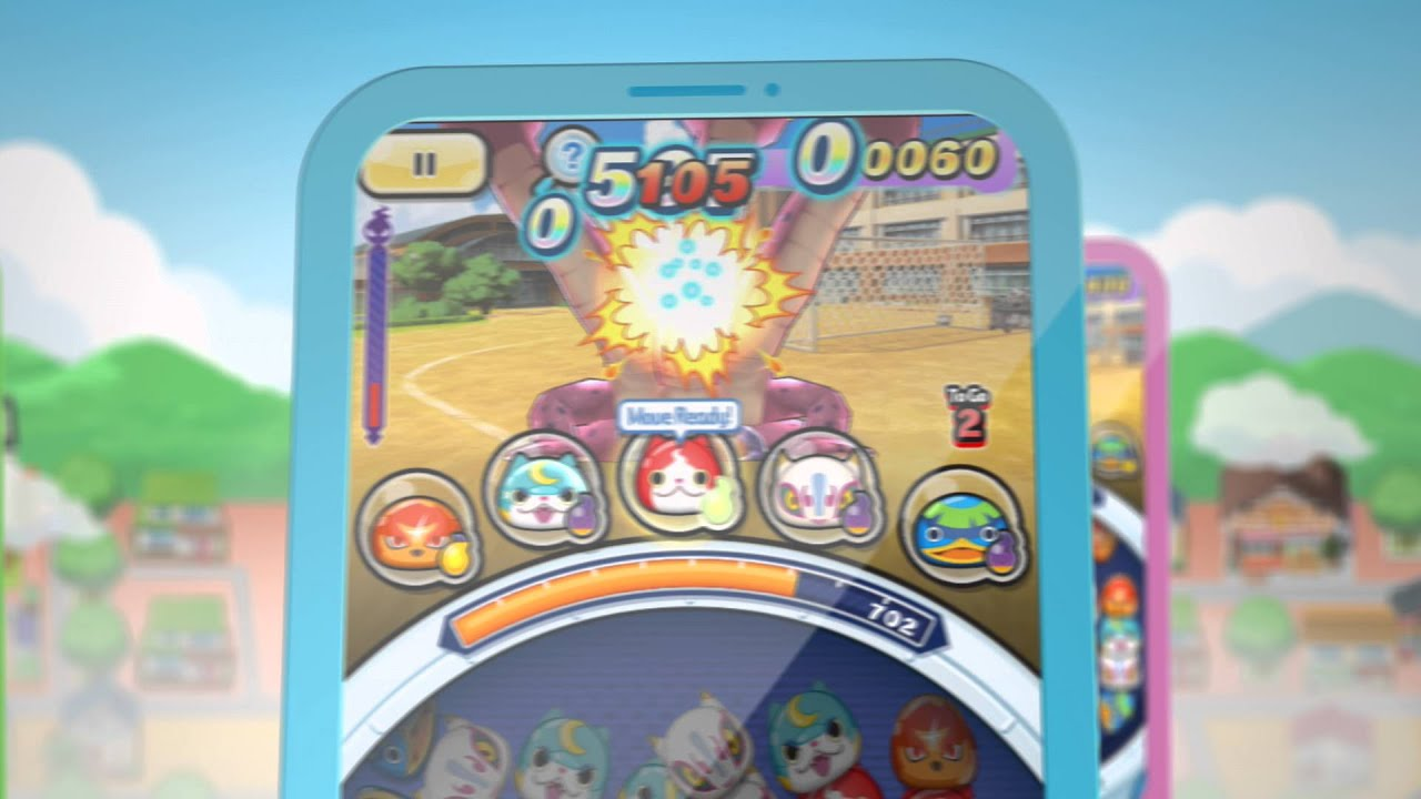 'Yo-Kai Watch Wibble Wobble' Review - Tap, Combine, and Pop