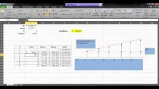 Gradiente Aritmético En Excel