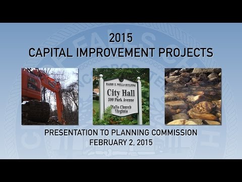 CIP Presentation to Planning Commission February 2, 2015