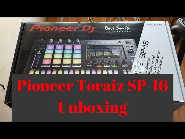Pioneer Dj Toraiz SP-16 Unboxing
