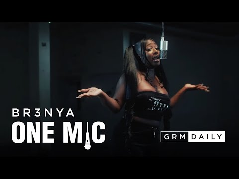 Br3nya – One Mic Freestyle | GRM Daily