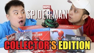 Video UNBOXING MARVEL SPIDER-MAN : COLLECTORS EDITION - PS4 MP3, 3GP, MP4, WEBM, AVI, FLV September 2018
