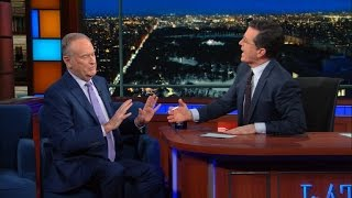 Stephen & Bill O'Reilly Respectfully Butt Heads