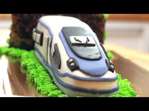 Pendolino, jak zrobić tort pociąg ?