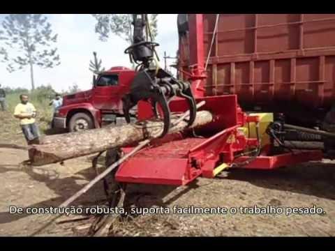 Picador Florestal Lippel PFL 400 x 700 Tractor - acionado por trator de 165 CV