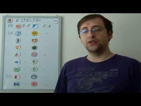 Bundesligatipps (1.Liga 6.Spieltag) 2014/2015 (видео)