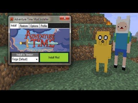 Türkçe Minecraft Mod Tanıtımları - Bölüm 1 - Adventure Time Mod