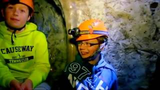 Caving in Dunmore East Adventure Center