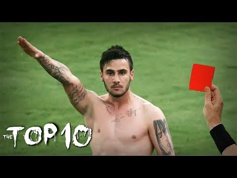 TOP 15 Red Card Celebrations in Football