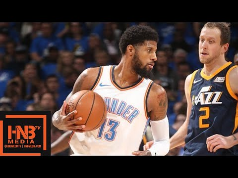 Oklahoma City Thunder vs Utah Jazz Full Game Highlights / Game 1 / 2018 NBA Playoffs