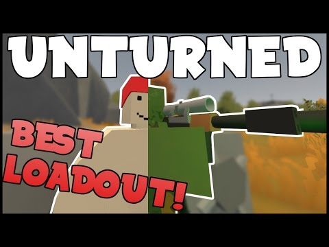 My Favorite Gear in Unturned! - PVP Guns and Ghillie Gearset!