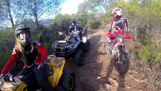 8. BOURBIER EN YAMAHA GRIZZLY CAN AM RENEGADE ET BETA EVO
