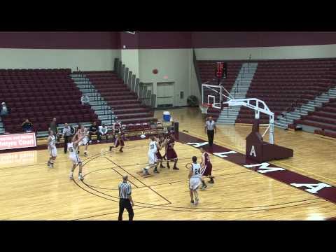 Alma College Men's Basketball vs. Indiana University Northwest - December 17, 2011