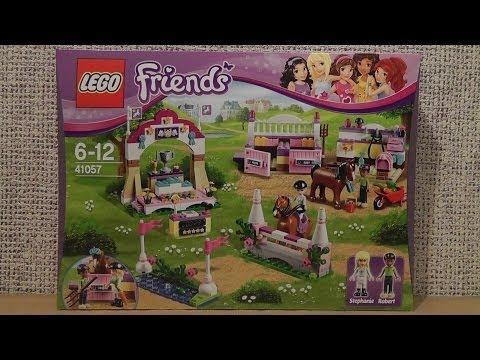 """Конструктор LEGO Friends 41057""""Выставка лошадей в Хартлейк"""""""