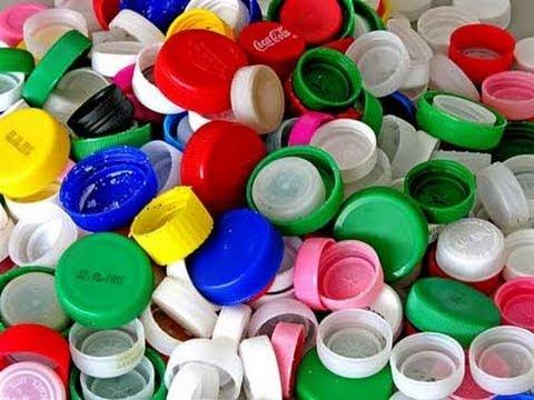 come riutilizzare i tappi delle bottiglie.