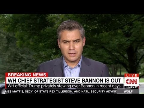 TRUMP's WH Chief Strategist Steve Bannon Is OUT!!